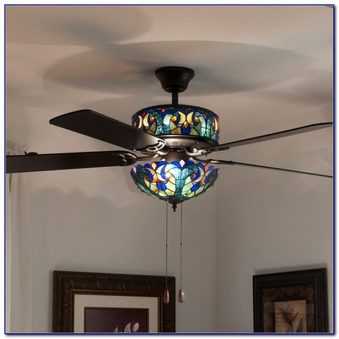 Tiffany Ceiling Fan Light Kit Ceiling Home Design