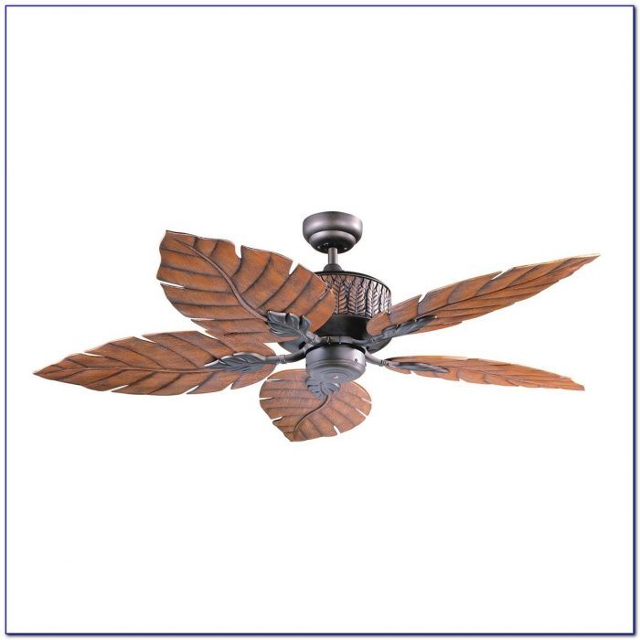 Ceiling Fans With Palm Blades