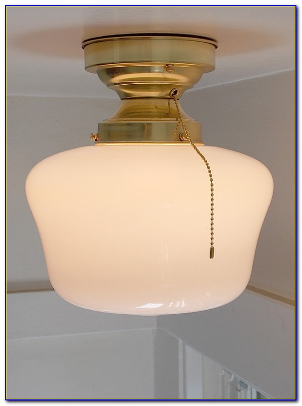 Ceiling Mount Light Fixture With Pull Chain Ceiling