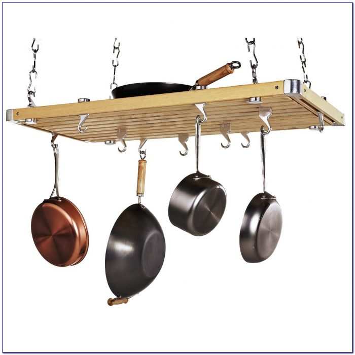Ceiling Mounted Pot And Pan Rack