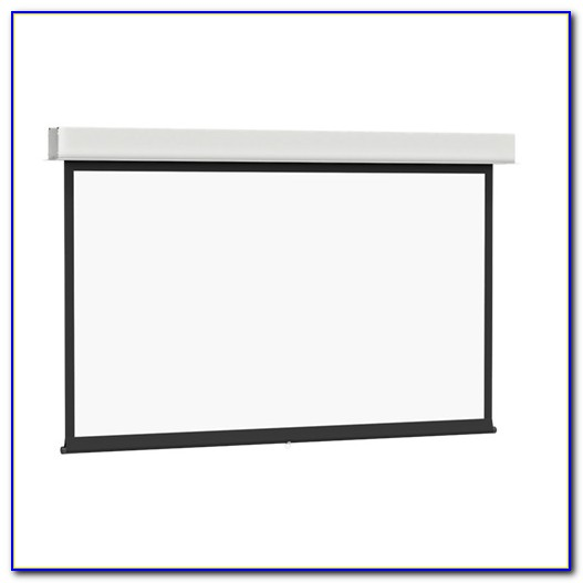 Ceiling Recessed Electric Projector Screen