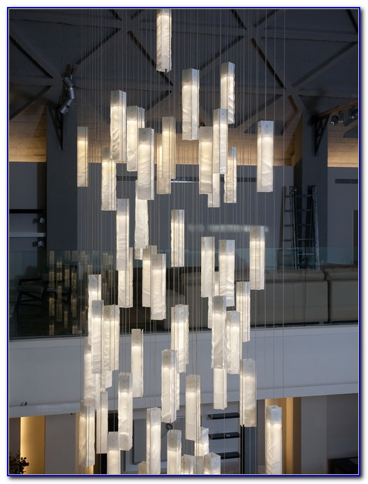 Chandeliers For Very High Ceilings