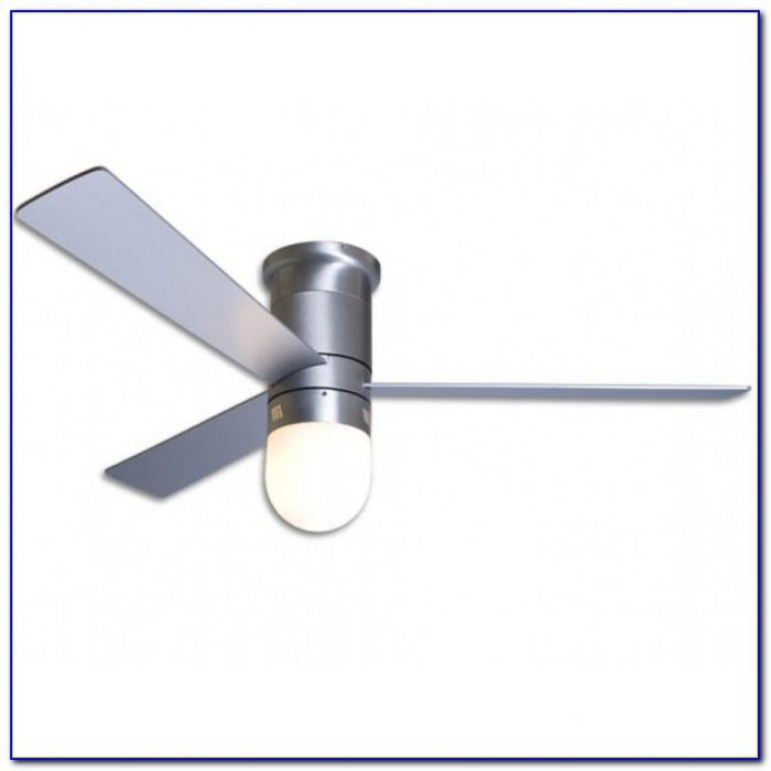 Contemporary Hugger Ceiling Fans With Lights