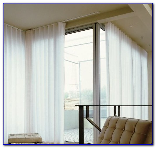 Curved Ceiling Tracks For Curtains