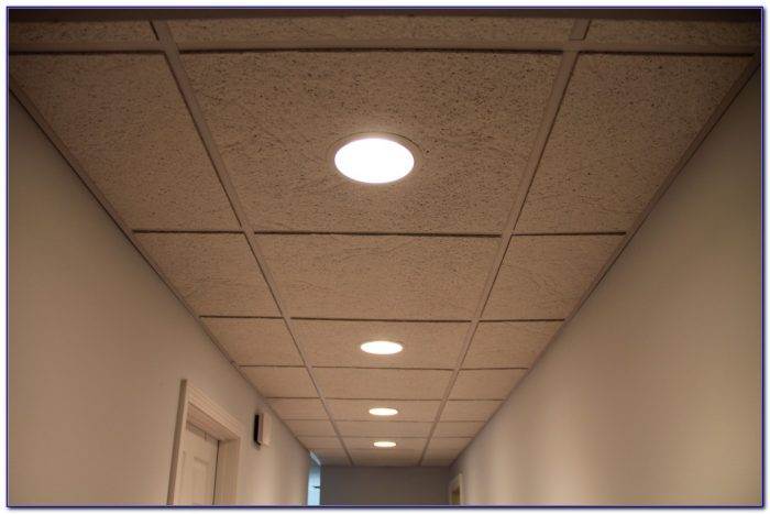 Cut Drop Ceiling Panels Recessed Lighting