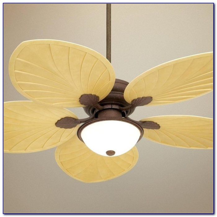 Decorative Palm Leaf Ceiling Fan Blades