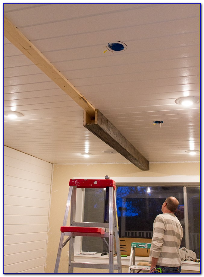 Diy Faux Ceiling Beams