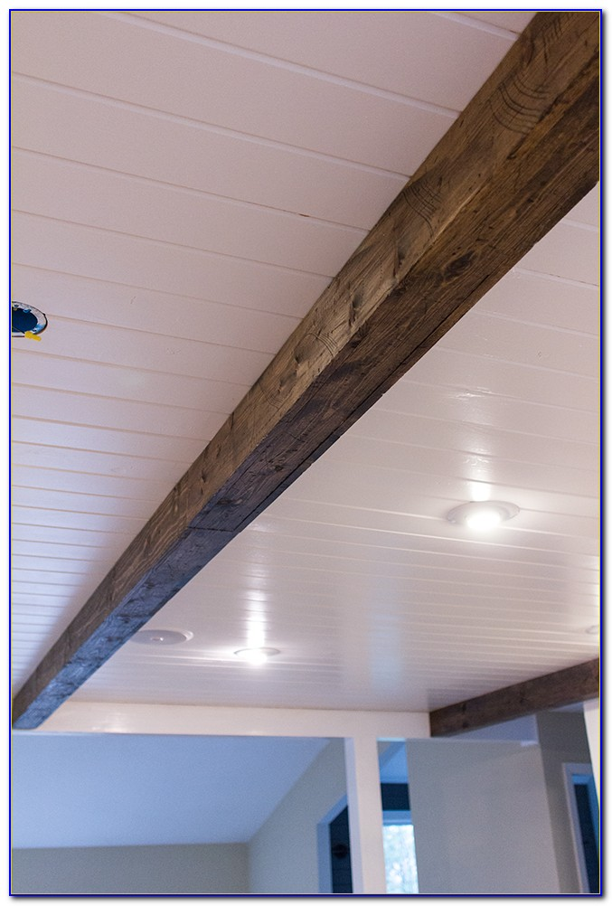Diy Faux Wood Ceiling Beams