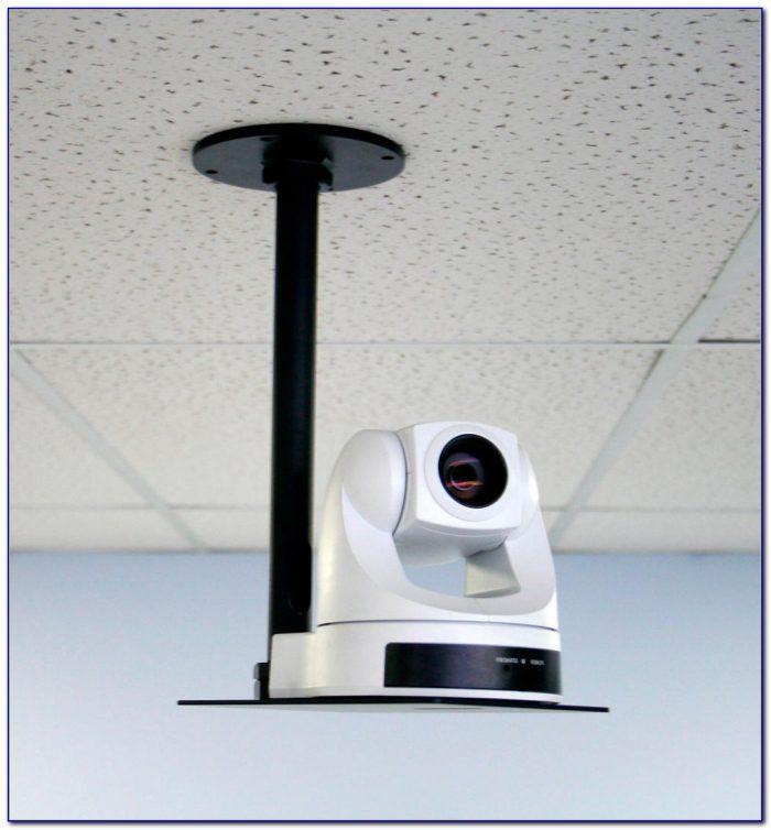 Draper Phantom Motorized Drop Down Ceiling Projector Mount