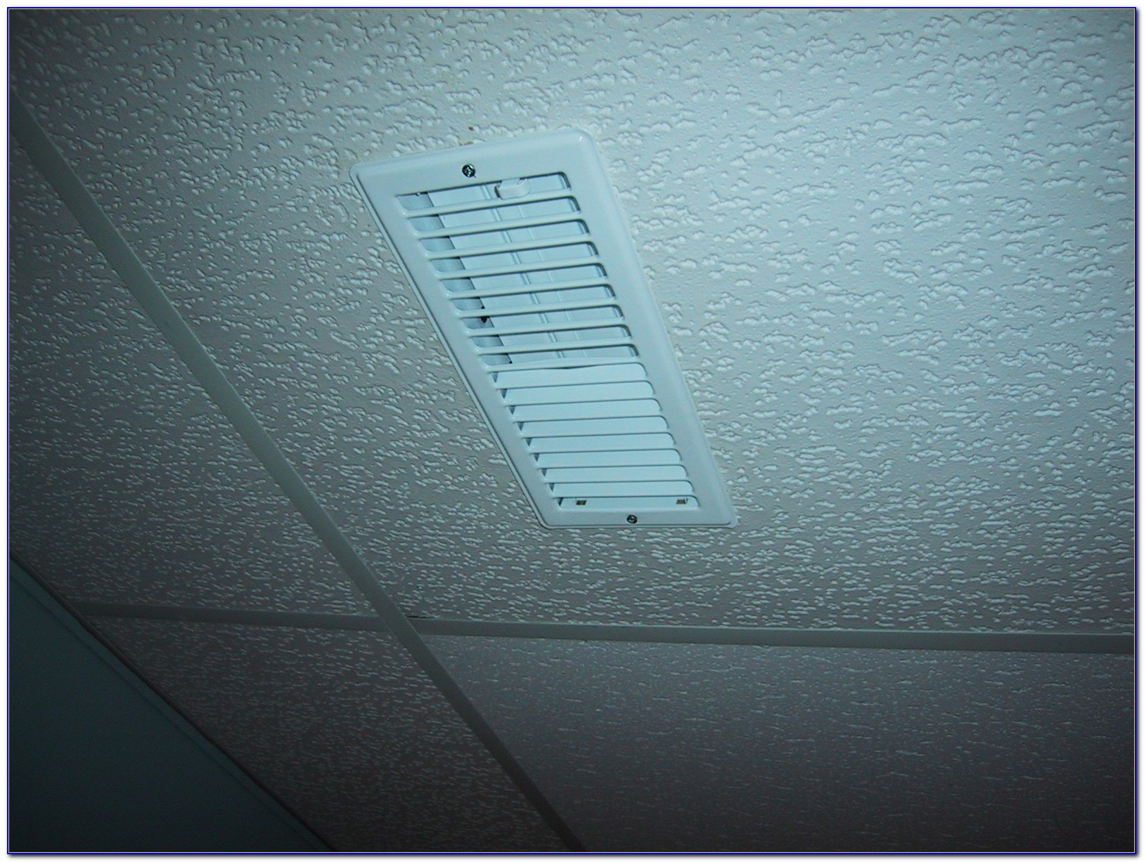 Drop Ceiling Air Vent Diverter