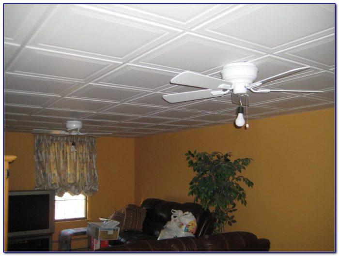 Drop Ceiling Ideas Basement