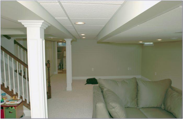 Drop Ceilings Vs Drywall In Basements