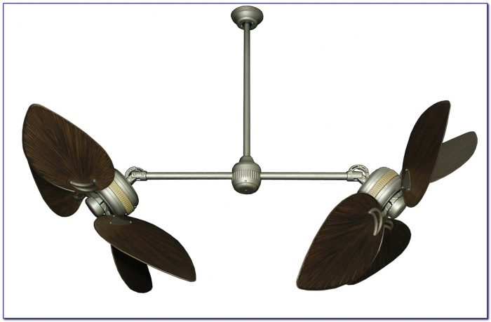 Dual Blade Outdoor Ceiling Fans