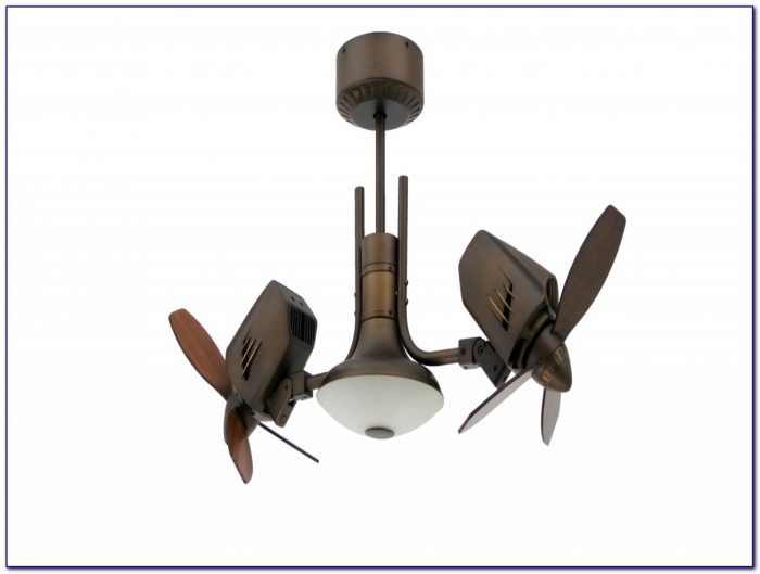 Dual Head Oscillating Ceiling Fan