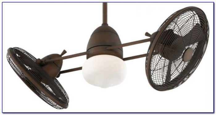 Dual Motor Ceiling Fan With Light