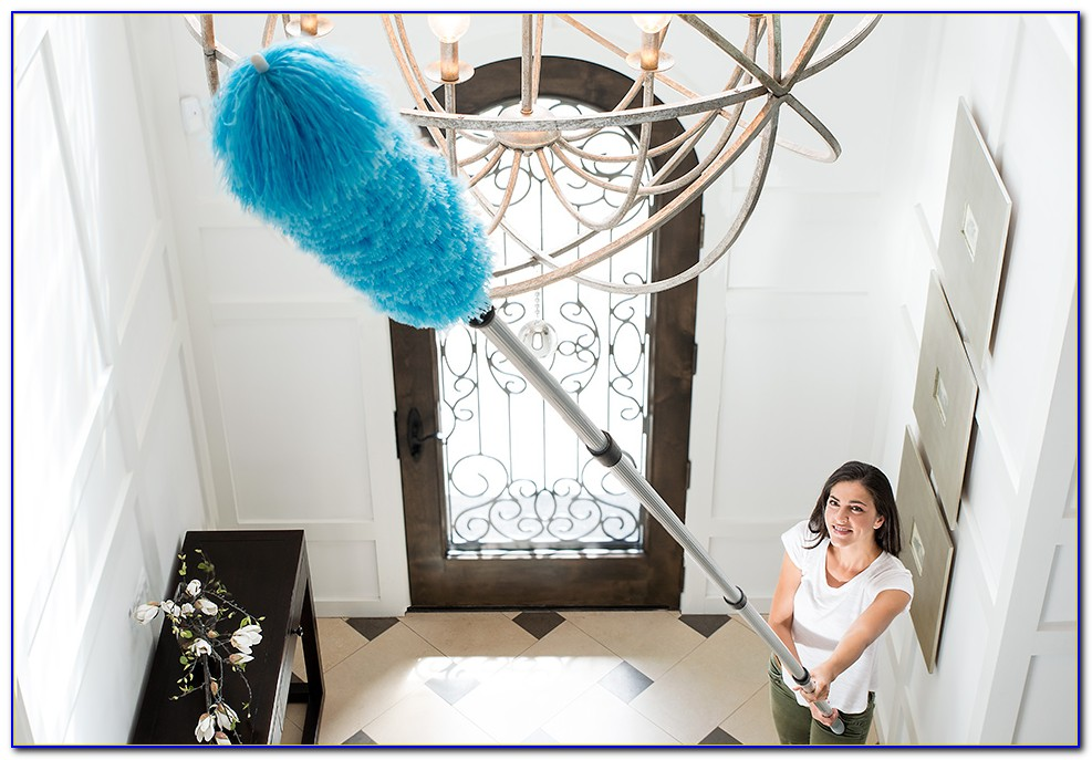 Extendable Duster For Very High Ceilings
