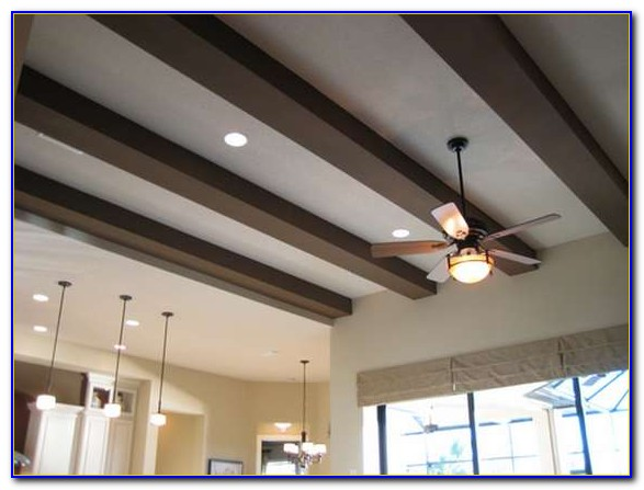 Faux Beams Ceiling Ideas