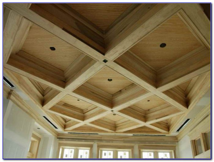 Faux Beams On Cathedral Ceiling