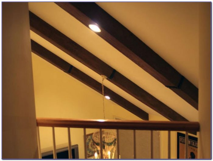 Faux Beams On Ceiling