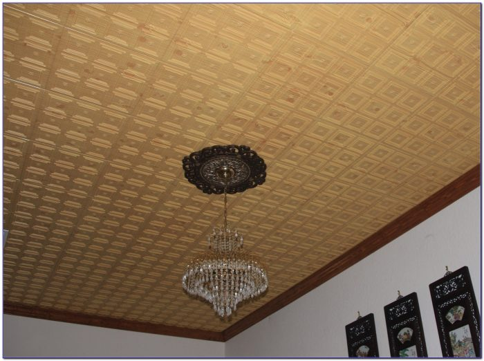 Faux Wood Exterior Ceiling Panels
