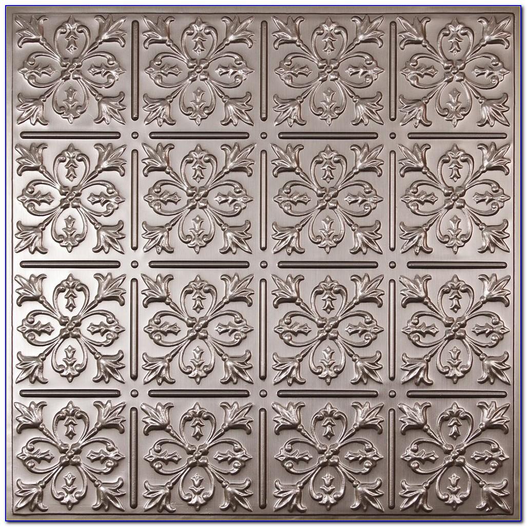 Faux Wood Plank Ceiling Tiles