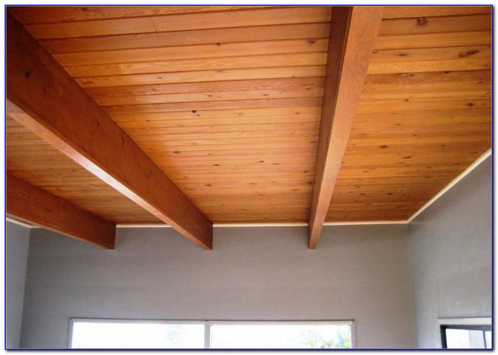 Faux Wood Planks For Ceiling