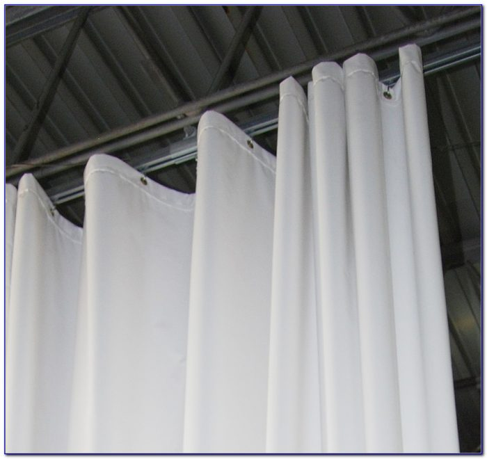 Flexible Ceiling Shower Curtain Track