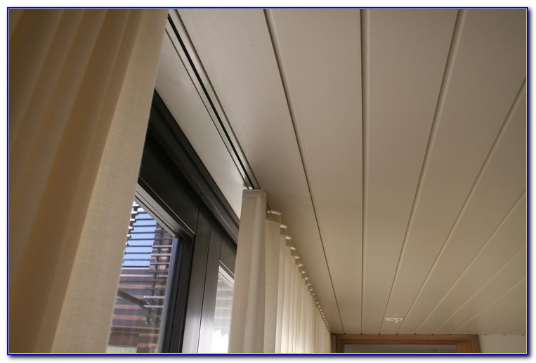 Flush Ceiling Curtain Track