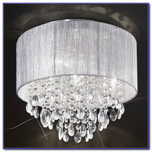 Flush Crystal Ceiling Lights