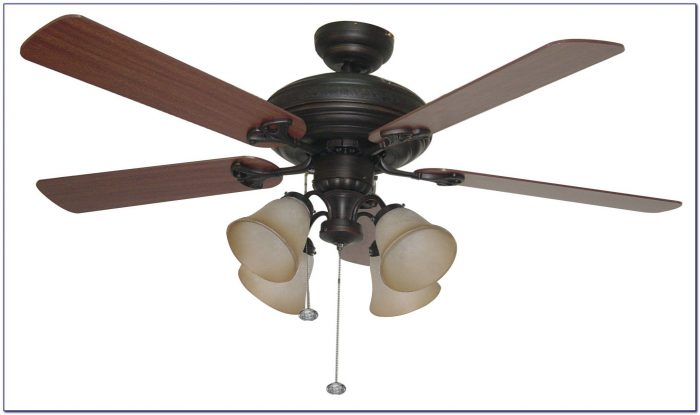 Flush Mount Ceiling Fan With Crystal Light Kit