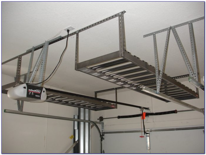 Garage Ceiling Storage Racks Diy