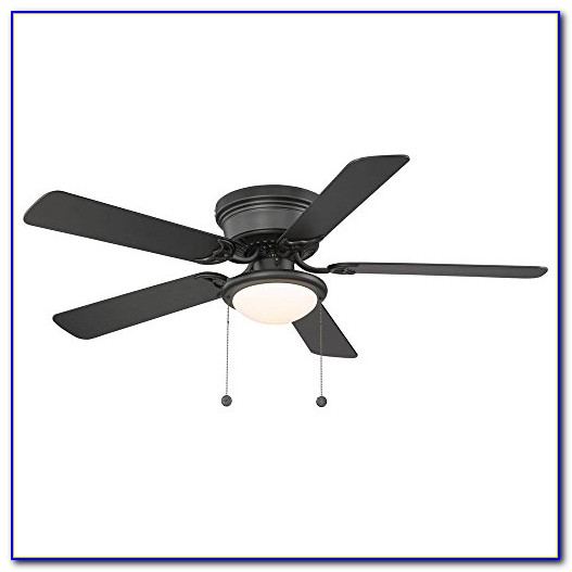 Hampton Bay Carlsbad 52 In. Black Ceiling Fan