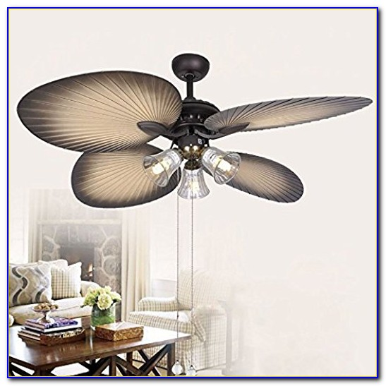 Hampton Bay Palm Tree Ceiling Fan