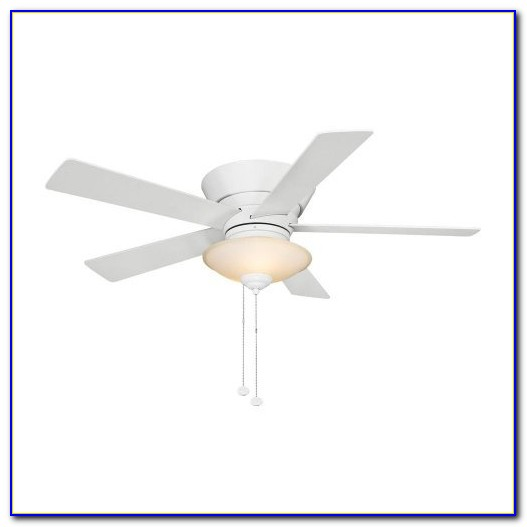 Hampton Bay Pilot 60 Dual Ceiling Fan Nickel