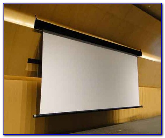 Hanging A Projector Screen From Ceiling