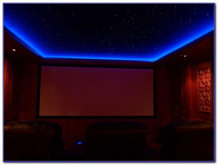 Home Theater Star Ceiling Diy Ceiling Home Design Ideas