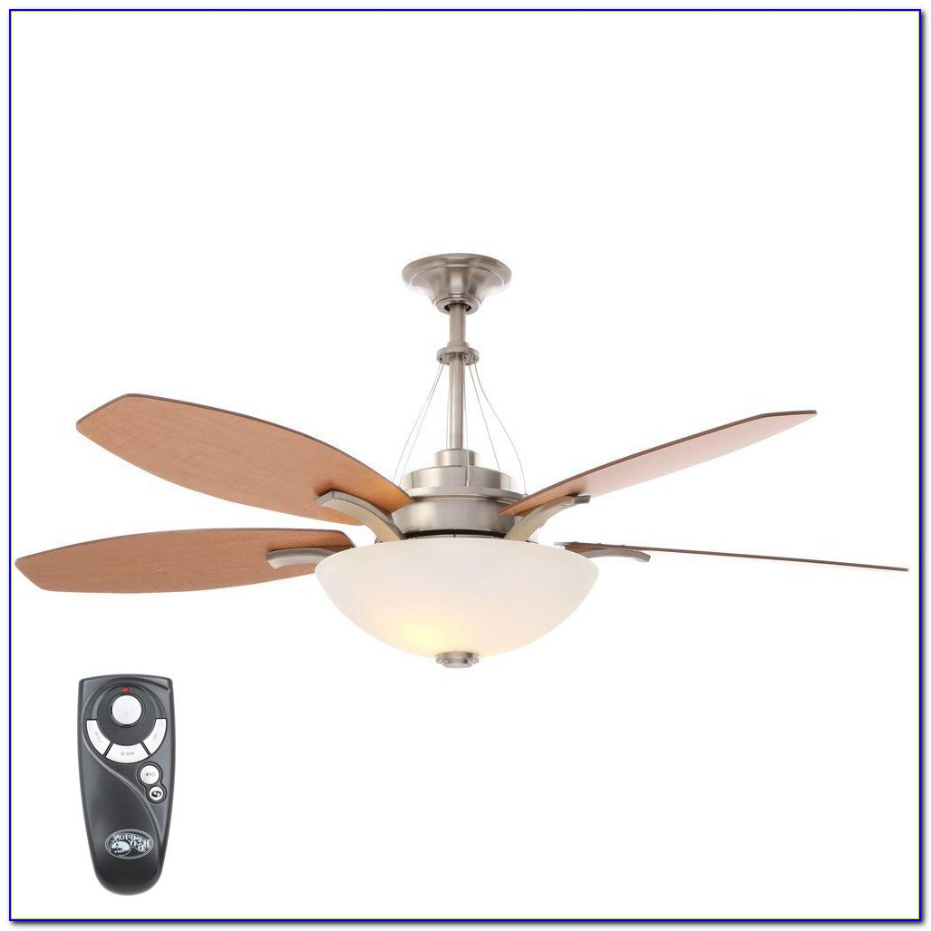 How To Install Hampton Bay Remote Control Ceiling Fan