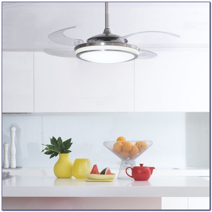 Hunter Ceiling Fan With Retractable Blades