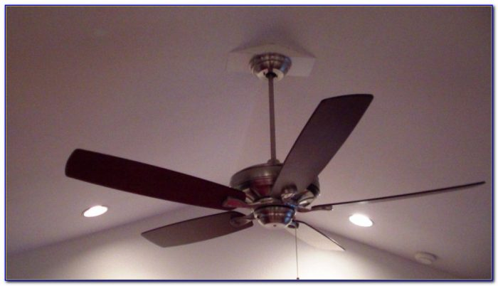 Install Ceiling Fan Box No Attic Access