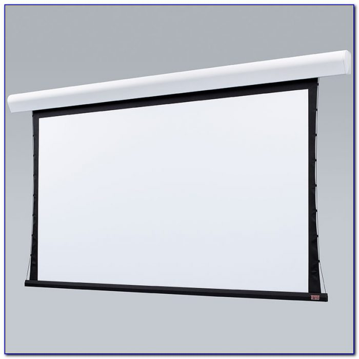 Install Ceiling Projector Screen