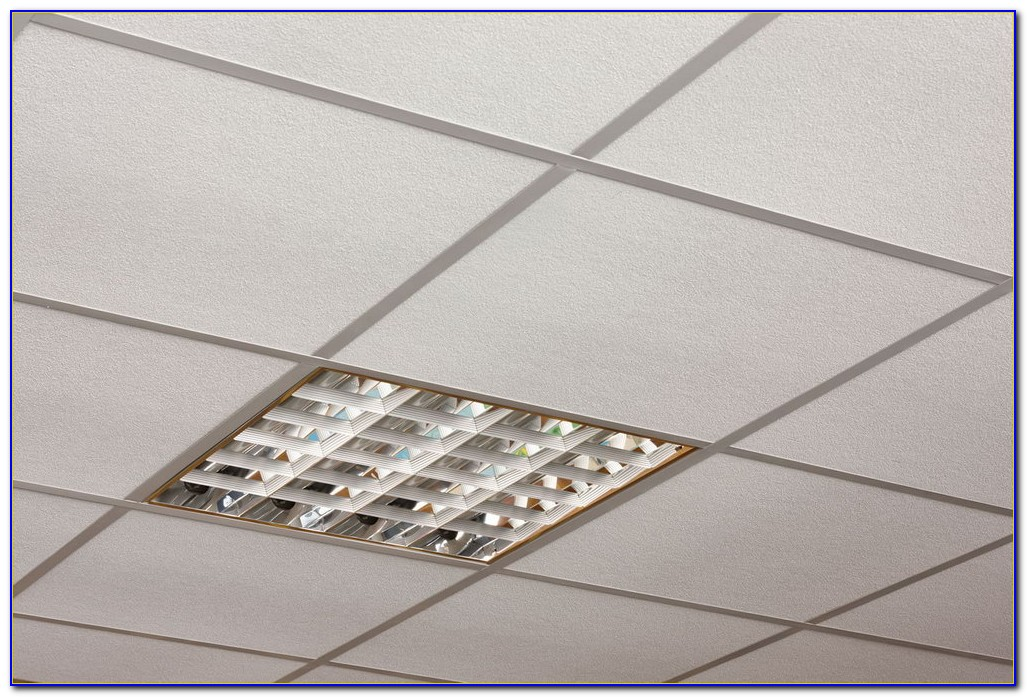 Install Recessed Lighting Drop Ceiling Panels