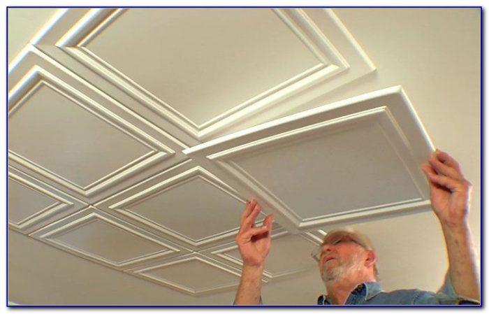 Installing Ceiling Tiles Over Popcorn Ceiling
