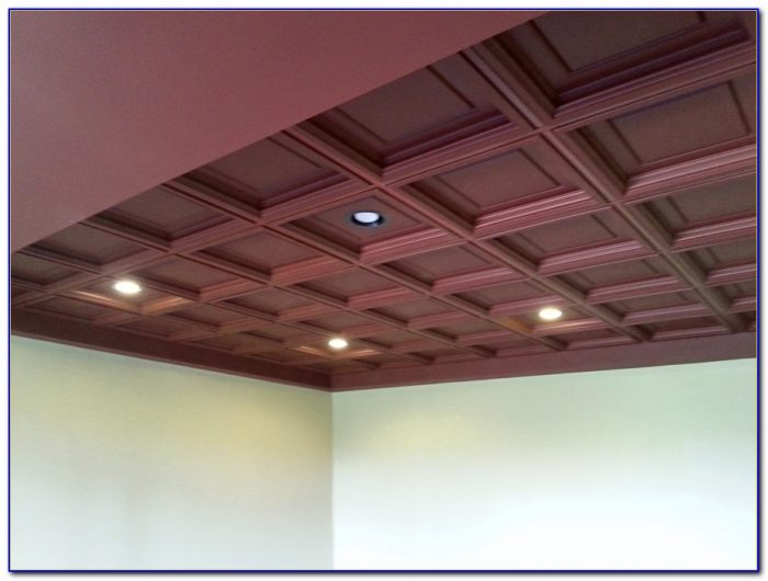 Installing Faux Wood Ceiling Panels