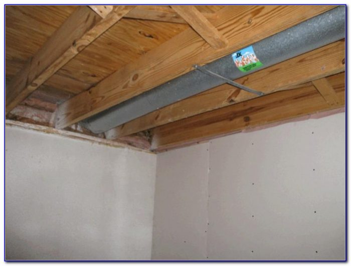 Installing Insulation In Basement Ceiling For Sound
