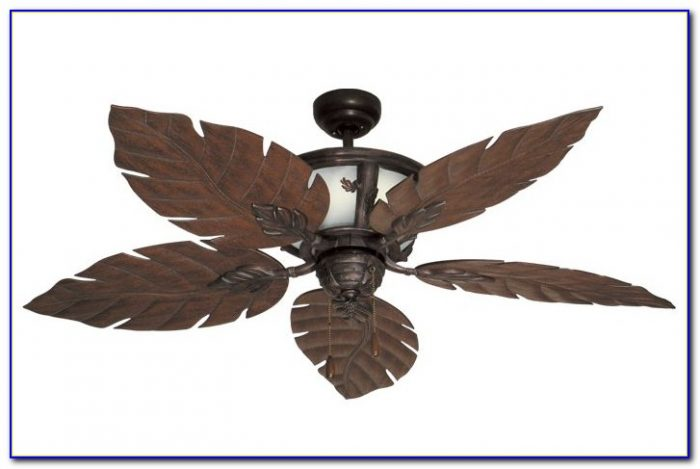 Leaf Blade Ceiling Fan With Light