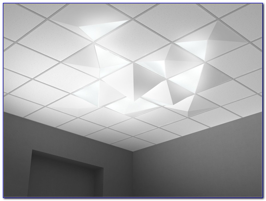 Led Recessed Lighting Drop Ceiling