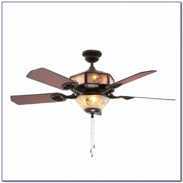 Lone Star Ceiling Fan Light