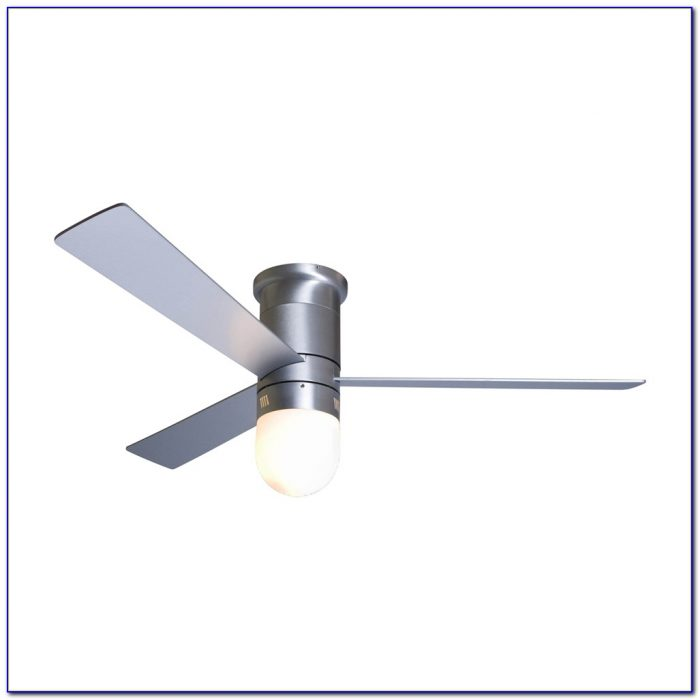 Modern Hugger Ceiling Fans With Lights