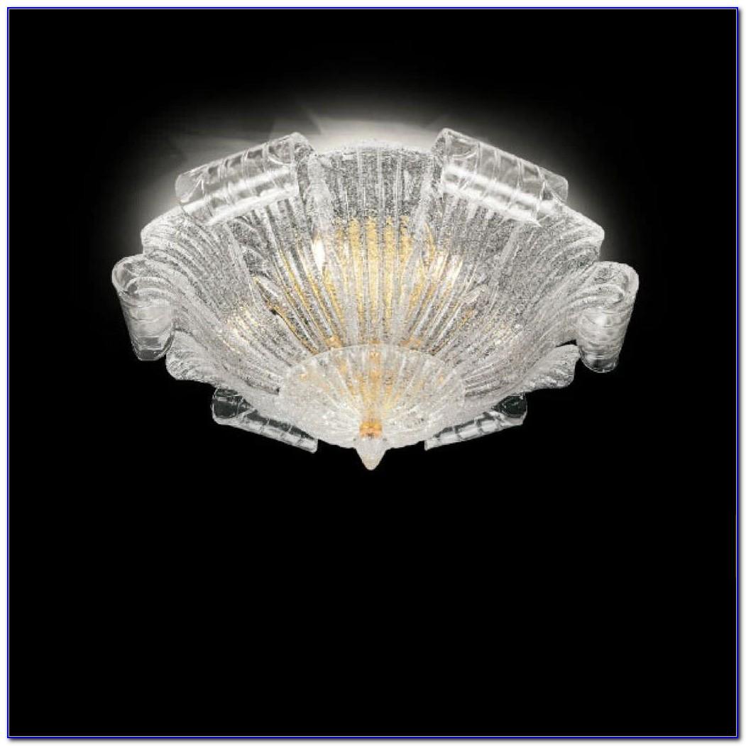 Murano Glass Pendant Lighting Fixtures