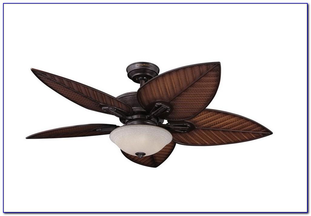 Palm Tree Leaf Ceiling Fan